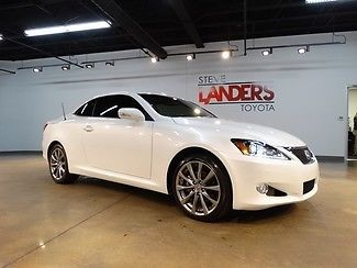 Lexus : IS 250 C GPS NAVIGATION HARD TOP CONVERTIBLE LEATHER LOADED CALL NOW