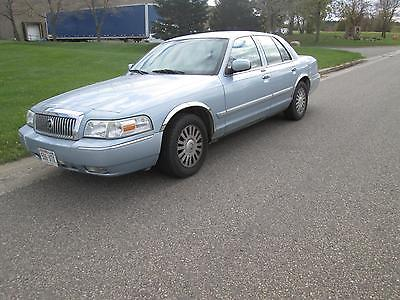 Mercury : Grand Marquis GS Sedan 4-Door 2008 mercury grand marquis 79 k miles vin 2 mefm 74 v 78 x 612866