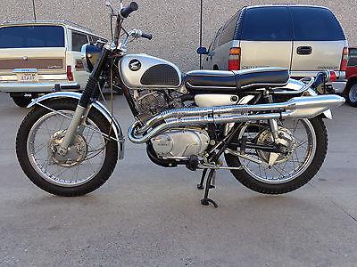 Honda : CL 1967 honda cl 77 scrambler 305