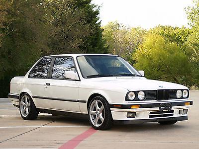 BMW : 3-Series 325is 1989 bmw 325 is alpine white e 30