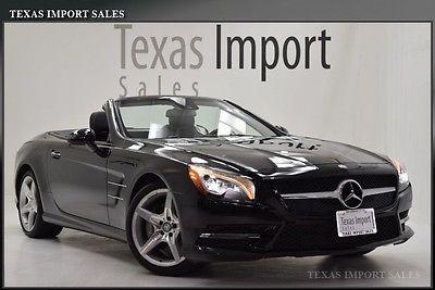Mercedes-Benz : SL-Class SL550 2014 sl 550 roadster 12 k miles wheel pkg black black we finance