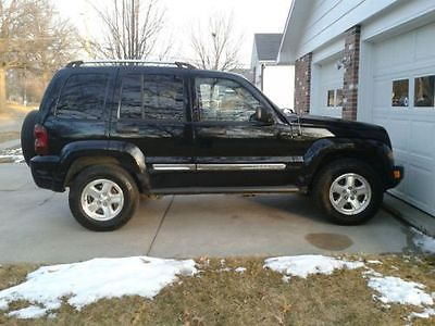 Jeep : Liberty CRD Jeep Liberty Limited CRD LOW MILES
