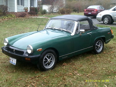 MG : Midget Roadster MG Midget 1975