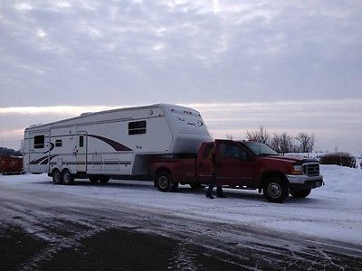 Camper 5 th wheel 38 ft.