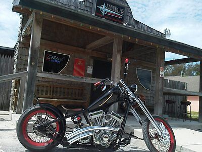 Custom Built Motorcycles : Chopper 2012 custom chopper hard tail springer