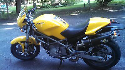Ducati : Monster Mint 2004 Ducati Monster 800 i.e. Garage Kept, adult owned, 8k miles.