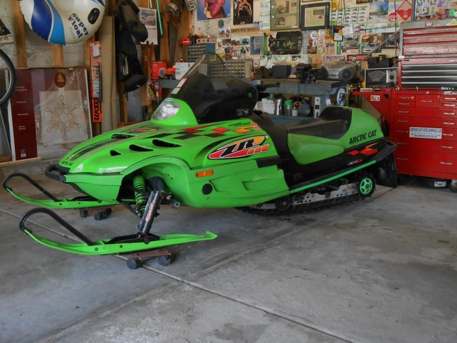 Skis For A  Arctic Cat Zl