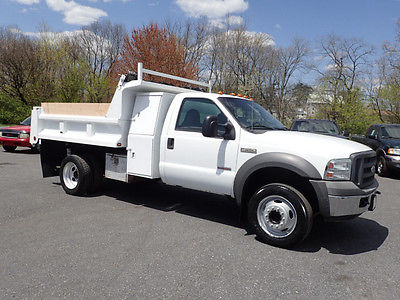Ford : Other Pickups XL Cab & Chassis 2-Door 2005 ford f 550 super duty xl 2 door 6.0 l dump truck
