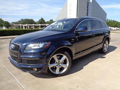 Audi : Q7 quattro 4dr 3.0T S line Prestige 13 audi q 7 awd 54 k mi s line nav am fm cd htd cool sts 3 rd seat loaded