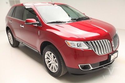 Lincoln : MKX Base FWD 2013 navigation leather heated cooled v 6 used preowned we finance 26 k miles