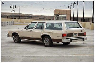 Mercury : Grand Marquis Colony Park 85 mercury colony park ls classic station wagon seats 7