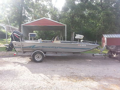 1997 17' Spectrum Dominator Bass Boat by Fisher, 50hp Mercury