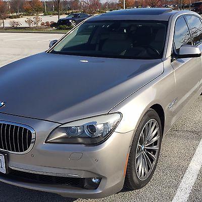 BMW : 7-Series 750Li Like new, loaded 750Li incl. DVD, Head-Up Display, Night Vision, Camera Pkg