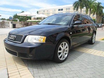 Audi : A6 Avant 2002 audi a 6 avant 3.0 l