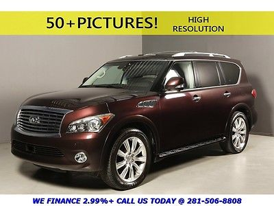 Infiniti : QX56 2011 TOURING TECH THEATER NAV DVD BLIS ADAPTCRUISE 2011 infiniti qx 56 2011 touring tech theater nav dvd blis adaptcruise automatic