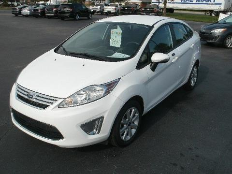 2012 FORD FIESTA 4 DOOR SEDAN