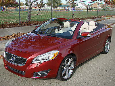 Volvo : C70 T5 Convertible 2-Door 2011 volvo c 70 t 5 only 45 k mi leather navigation heated seats don t miss