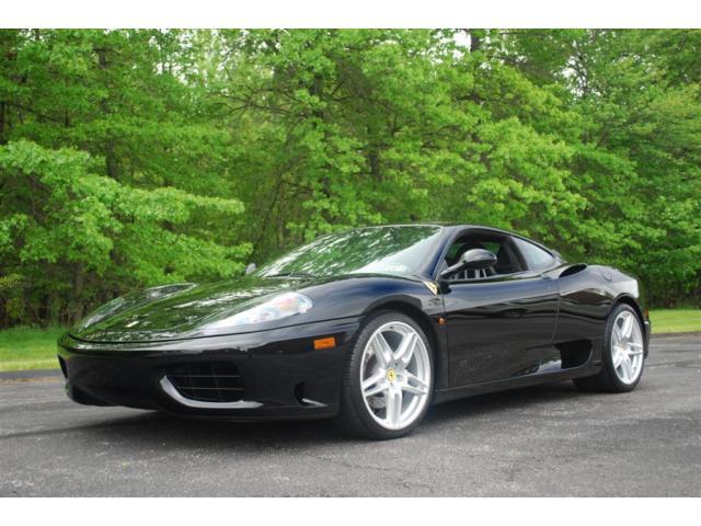 Ferrari : 360 6 spd manual carbon stradale seats novitek wheels tubi full service history