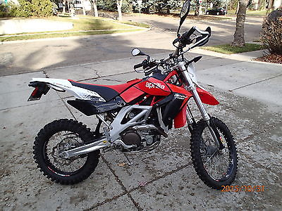 Aprilia : RXV 450 (Street Legal) 2009 aprilia rxv 450 dual sport street legal bought new in 2014