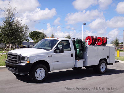 Ford : F-550 Ford F550 4X4 Service Body 7.3L Diesel Miller Electric Welding Honda Engine 2 dr