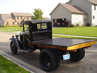 Ford : Model A basic 1931 ford aa with weaver auto crane