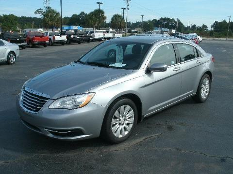 2014 CHRYSLER 200 4 DOOR SEDAN