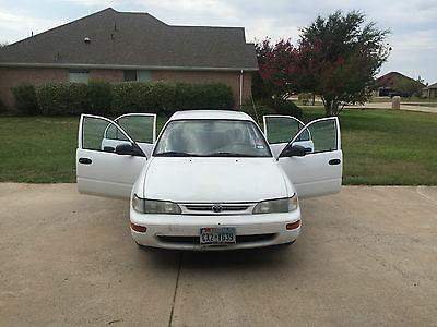 Toyota : Corolla Base Sedan 4-Door 1996 toyota corolla base sedan 4 door 1.6 l