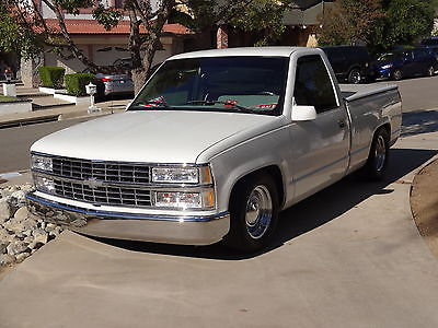 Chevrolet : C/K Pickup 1500 Fleetline 1991 chevy 1500 pick up excellent cond ac 700 r power windows doors locks