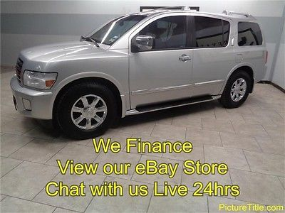 Infiniti : QX56 Leather Heated Seats Sunroof 06 qx 5 tv dvd leather heated seats chrome wheels warranty we finance texas