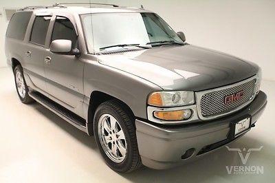 GMC : Yukon Denali 4x4 2006 leather heated sunroof trailer hitch v 8 vortec used preowned 146 k miles