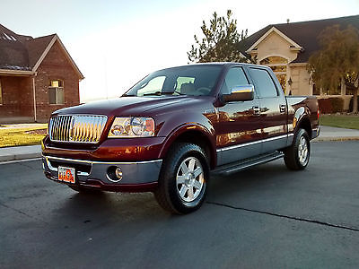 Lincoln : Mark Series LT Mark LT 4X4! 60,000 low low miles! New $2K Alpine DVD New Tires Rhino Liner etc!