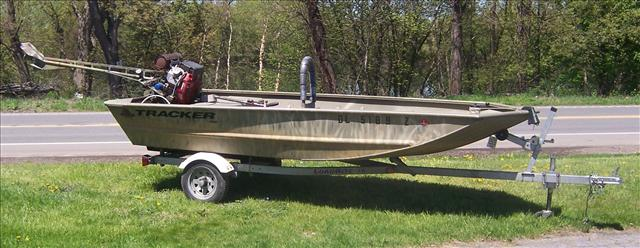 2007 TRACKER BOATS Grizzly 1448 L All-Welded Jon