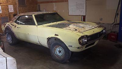Chevrolet : Camaro Rare Cordovan Maroon, V8, 4 Speed transmission 1968 chevrolet maroon camaro 4 speed v 8 super sport hood 68 67 69 1967 1969 1970