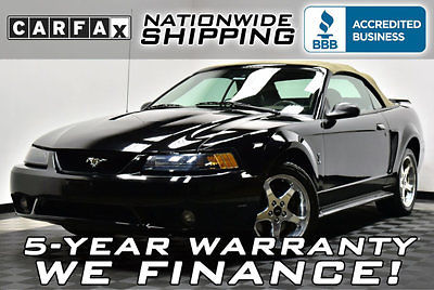 Ford : Mustang SVT Cobra 49 k miles svt cobra carfax certified convertible 6 spd service records