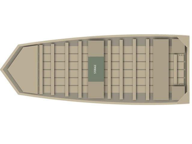 2014 Alumacraft Riveted Jon 1036