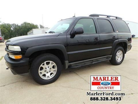 2003 CHEVROLET TAHOE 4 DOOR SUV