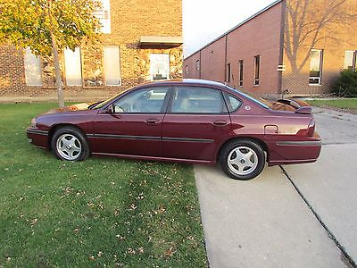 Chevrolet : Impala 2001 chevy impala ls with only 59 222 miles 1 owner