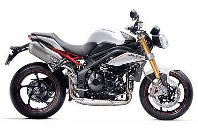 Triumph : Speed Triple 2012 triumph speed triple r crystal white new