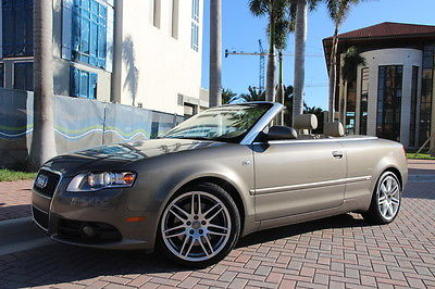 Audi : A4 2.0T 2009 audi a 4 2.0 t convertible 43 k miles clean carfax