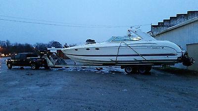 heavy duty bunk aluminum steel boat yacht hauling transport trailer built 2013
