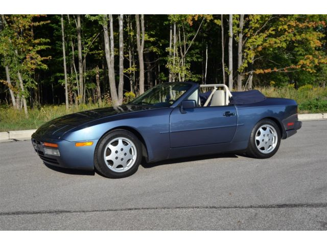 Porsche : 944 S2 Cabriolet 944 s 2 cabriolet exceptionally clean documented car with low mileage