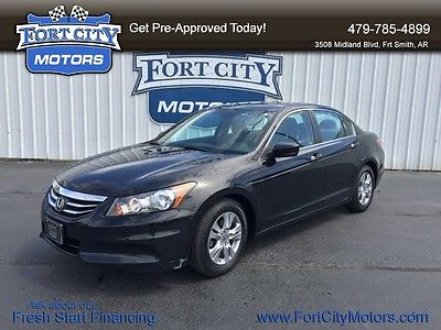 Honda : Accord SE-LEATHER-ALLOY WHEELS-HOMELINK-BLUETOOTH-CARFAX ONE OWNER 2012 honda se leather alloy wheels homelink bluetooth carfax one owner
