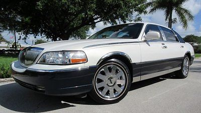 2003 lincoln town car cartier cars for sale. Black Bedroom Furniture Sets. Home Design Ideas