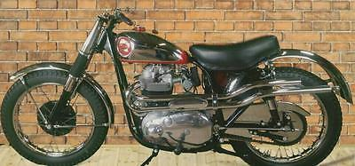BSA : ROCKET GOLD STAR EXTRAORDINARILY RARE RESTORED 1963 BSA ROCKET GOLD STAR IN SCRAMBLES TRIM