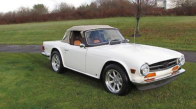 Triumph : TR-6 Base Convertible 2-Door 1974 triumph tr 6 base convertible 2 door 2.5 l