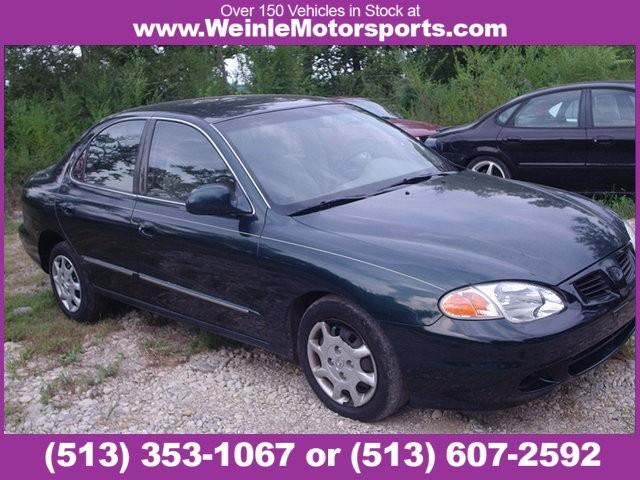 2000 Hyundai Elantra 4dr Sdn GLS Auto