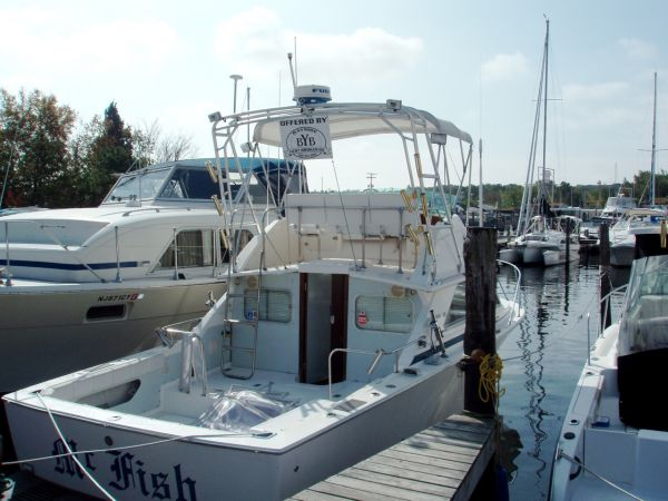 1975  Bertram  28 Flybridge CRUISER