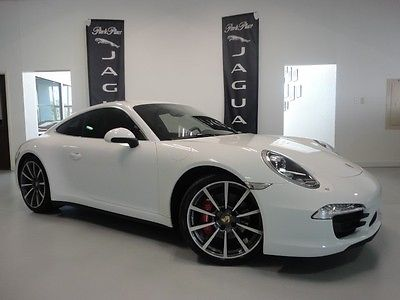 Porsche : 911 4 S (AWD) 911 4 c awd burmester sound pdk adaptive sport seats sport chrono