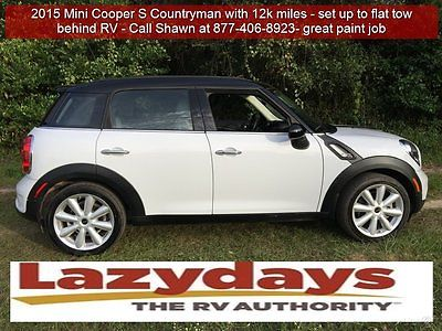 Mini : Countryman Cooper S 2015 mini cooper s countryman used rv flat tow set up make an offer