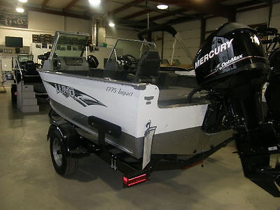 2015 LUND 1775 Impact Sport 115 HP Mercury & Trailer Fishing Boat-NEW Boat
